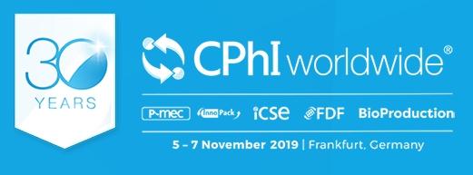 CPhI worldwide, Frankfurt, 05-07 November 2019