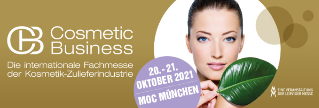Cosmetic Business, Munich, 20. – 21. October 2021